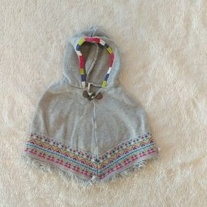 Carter's 9 Month Girls Poncho / Sweater